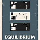 Equilibrium Poster by Jens Arne  Larsen Aas