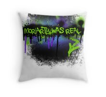 Moriarty was real (mania) Throw Pillow