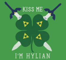 Kiss Me I'm Hylian by Rachael Thomas