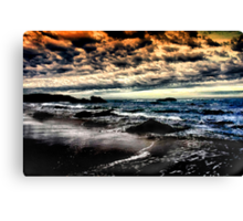 Another Day Fades Away Canvas Print