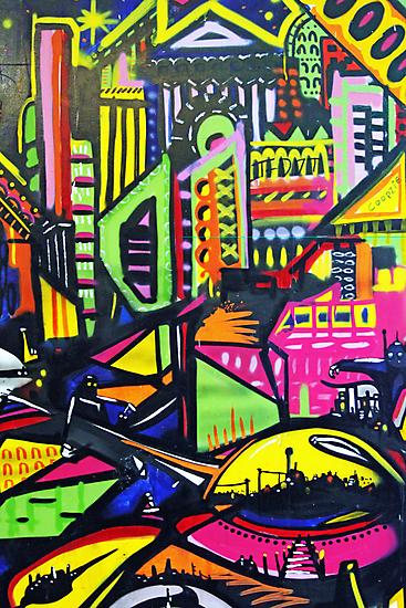 Bristol graffiti by Roxy J