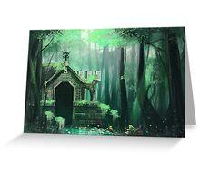 Swamp Temple Greeting Card