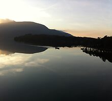 Dundag bay on Muckross Lake Killarney by timbuckley
