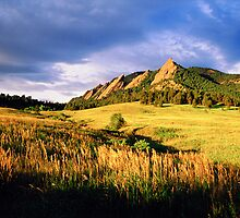 Summer At The Flatirons by Greg Summers