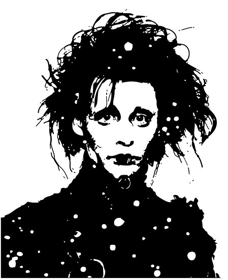 Edward Scissorhands  by Lauren Eldridge-Murray