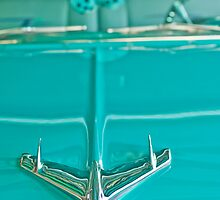 1956 Chevrolet Belair Hood Ornament 4 by Jill Reger