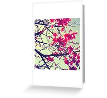 the first signs of Spring Greeting Card
