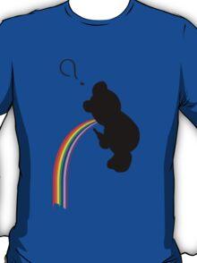 TEDDY RAINBOW VOMIT T-Shirt