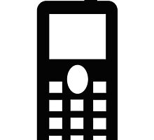 mobile telephone sign as clipart by naturaldigital