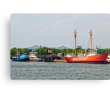Boston: The Nantucket Lightship Canvas Print