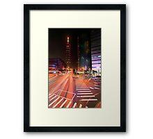 Taipei Flow Framed Print