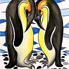 I Choose You ~ you are my penguin. by Lisa Frances Judd ~ Original Australian Art