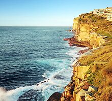 The Sea Cliffs 2 by barnabychambers