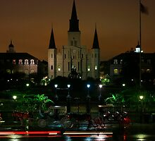St Louis Cathedral by Cynthia Broomfield