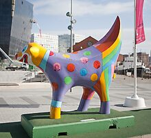 Super Lamb Banana in Liverpool by Keith Larby