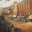 East Main Street, Norfolk, VA 1911 by Jsimone