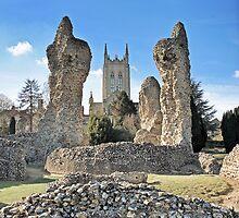 Bury St Edmunds Abbey by Dale Batchelor