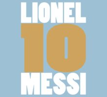 10 MESSI by Matt Burgess