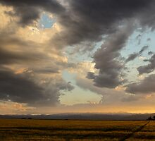 Crazy Colorado Sunset by Gregory J Summers