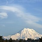 Lenticular over Mount Rainier by Kathy Yates