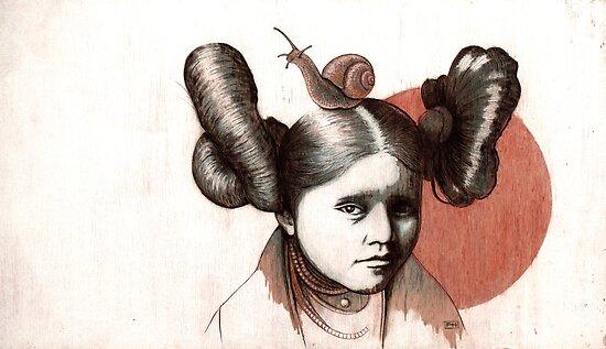 Little Snail by Fay Helfer