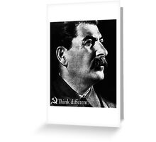 Piece a Week #17: Think Different (Stalin) Greeting Card