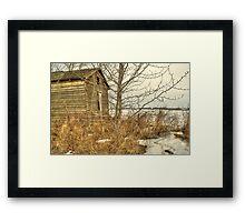 Ye Ole Shack Framed Print
