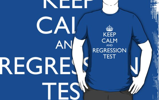 KEEP CALM AND REGRESSION TEST by fayafshar