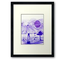 Backyard Astronomy Framed Print