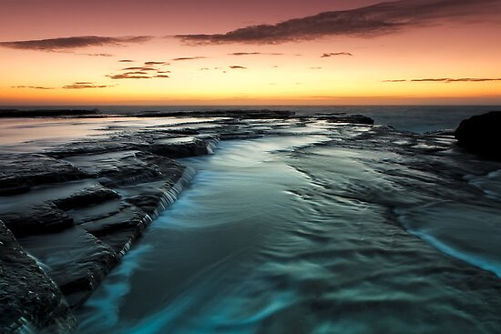 Flowing Down by Mark  Lucey