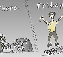 Binary Options Editorial Cartoon Greek Debt Update by Binary-Options