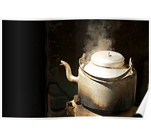 Steaming Poster