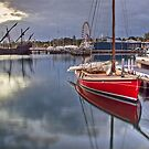 The Wooden Boat by Lynden