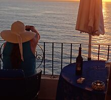 Balcony In The Paradise - Balcón En El Paraiso by Bernhard Matejka
