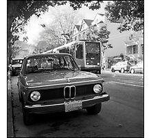 BMW / MUNI Photographic Print