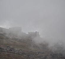 Low clouds in the Andes by julie08