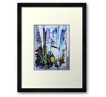 Untitled 1- (città Toscana) Framed Print