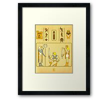 Walk Like an Eternian Framed Print