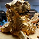 The Royal Barge - Lion Figures by rsangsterkelly