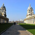 Greenwich University - Naval College  by rsangsterkelly