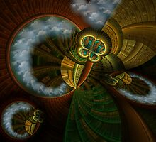 Collective Perspective by Craig Hitchens - Spiritual Digital Art