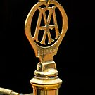 1910 Rolls-Royce Silver Ghost Balloon Car Hood Ornament 2 by Jill Reger