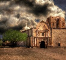 San Jose de Tumacacori by Lois  Bryan