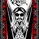 Leon Russell, Rock &amp; Roll Hall of Fame, Commemorative Art by L. R. Emerson II by L R Emerson II
