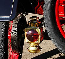 1911 Ford Model T Torpedo Taillight by Jill Reger