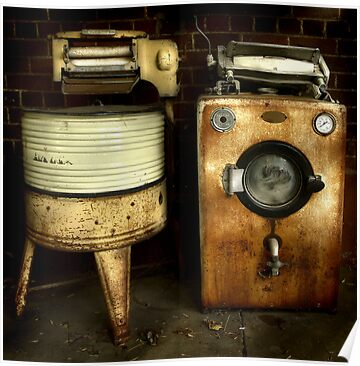 The odd couple ~ Living Museum, Junee NSW by Rosalie Dale