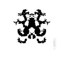 Rorschach iphone cover by ANDIBLAIR