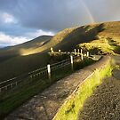The Connor Pass rainbow by Paul Woods