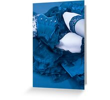 Cold Steel Greeting Card