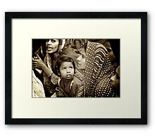 Entranced Framed Print